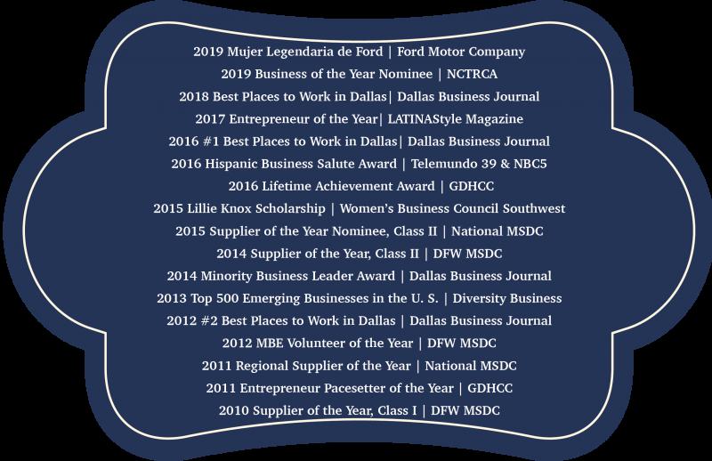 Blue awards Banner 2019